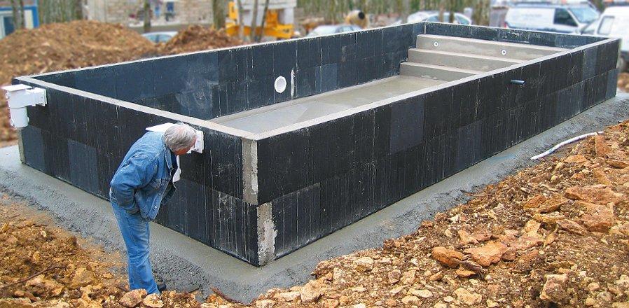 Caracter sticas piscina prefabricada construcci n o for Construccion de piscinas de hormigon
